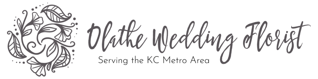 Olathe Wedding Florist Logo Gray